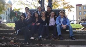 Senior TOPS students at Stratford 2006